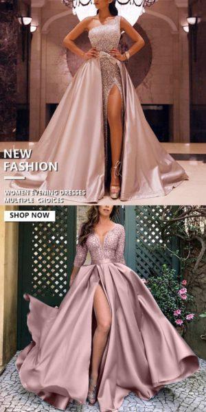 robe bal asymétrique