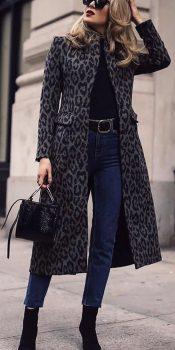 veste léopard