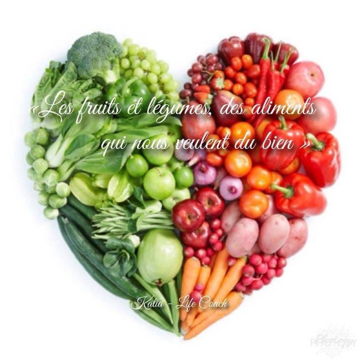 Les légumes et les fruits, des aliments qui nous veulent du bien