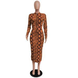 snake dress