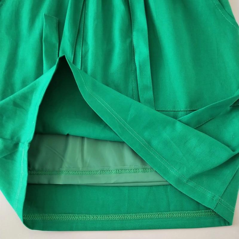 jupes femmes coton taille élastique