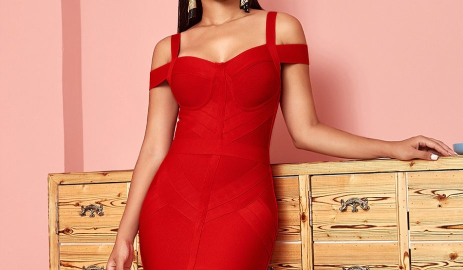 sublime robe rouge