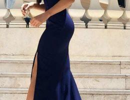 magnifique robe bleu