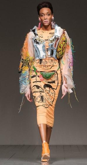 Look de stars partage avec vous différents  styles vestimentaires de Winnie Harlow