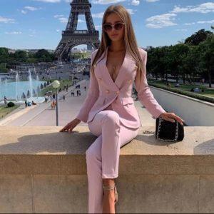 tenue luxe rose