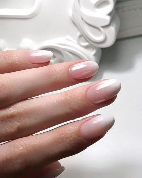 ongles french manucure