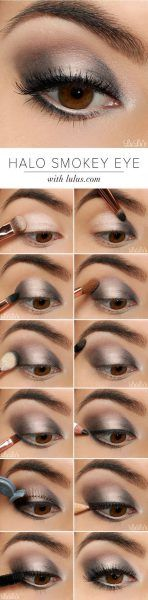 tuto maquillage yeux smoky