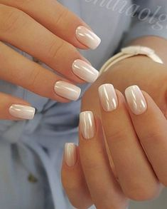 ongles vernis blancs