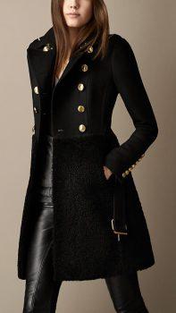 manteau hiver élégant