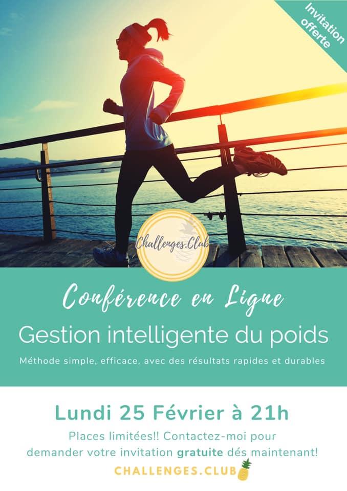 Participez à une conférence sur le poids !
