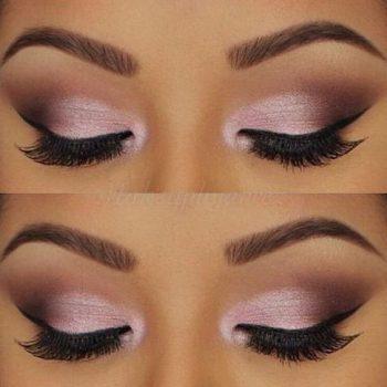maquillage teinte rose
