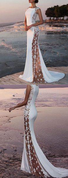 robe mariée moderne