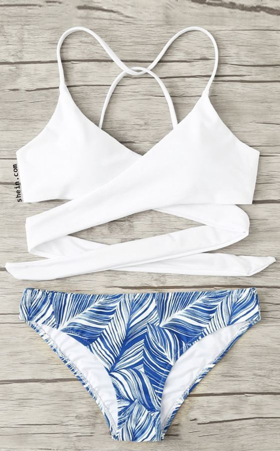 maillot de bain blanc