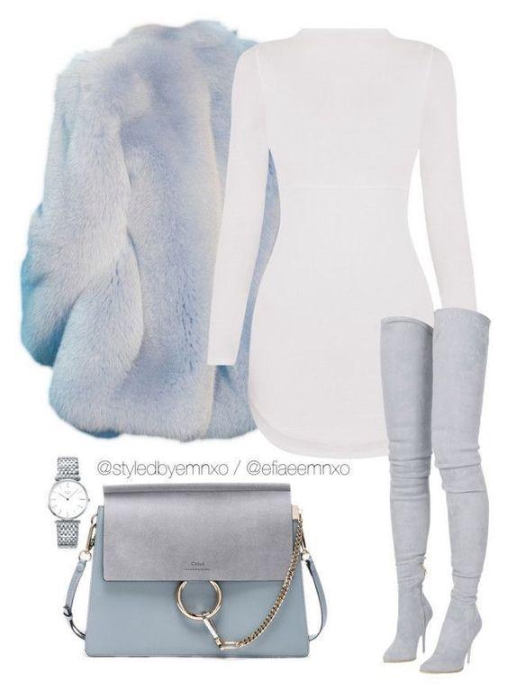 ensemble hiver blanc