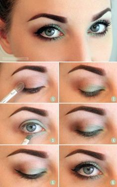 maquillage yeux couleur phare