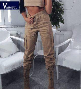 pantalon femme gris