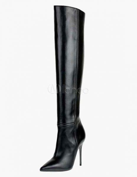 bottes talons noires