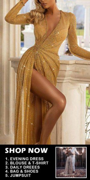 robe longue sexy