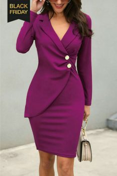 robe ensemble bordeaux