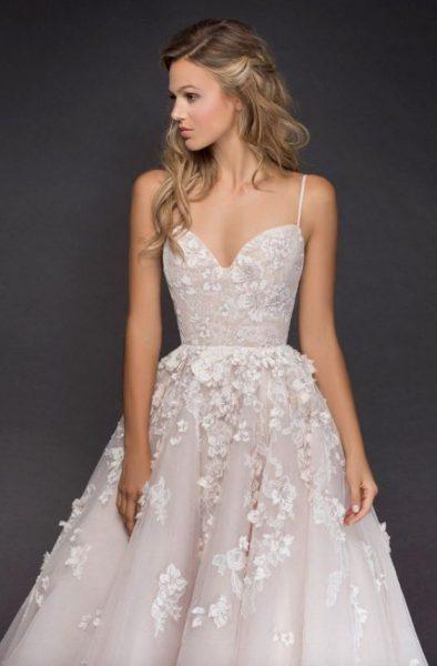 robe mariée Hailey Page