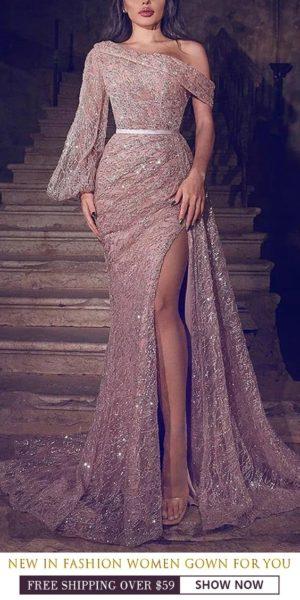 robe soirée fendue