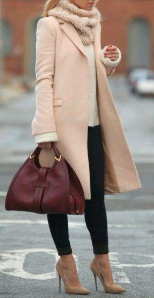 veste rose pâle