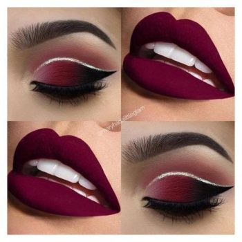 maquillage rouge